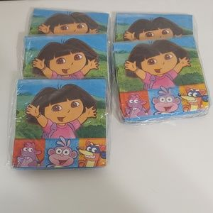 10 packages of Dora and Friends Beverage Napkins